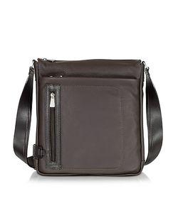 Chiarugi | Leather Vertical Crossbody Bag