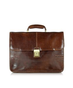 Chiarugi | Large Leather Briefcase