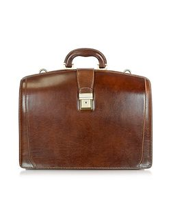Chiarugi | Leather Buckled Diplomatic Briefcase