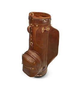 Pellevera | Pro Staff 9.5 Genuine Italian Leather Golf Bag