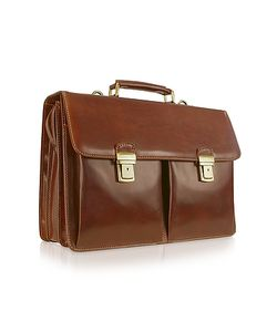 Chiarugi | Handmade Genuine Italian Leather Briefcase