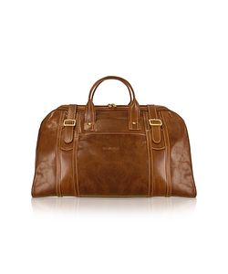 Chiarugi | Handmade Genuine Italian Leather Duffle Travel Bag