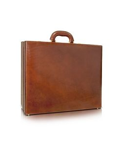 Chiarugi | Mens Handmade Leather Attache Briefcase