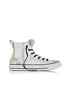 Converse Limited Edition | All Star High White Chelsee Leather Womens Sneaker