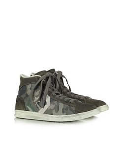 Converse Limited Edition | Pro Leather Mid Canvas And Suede Sneaker