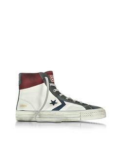 Converse Limited Edition | Star Player High /Truffle Leather And Suede Mens Sneaker