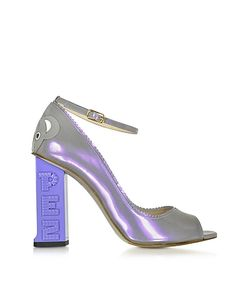 CAMILLA ELPHICK | Pez Classics Australia Лиловые Туфли-Лодочки Из Лакированной Кожи