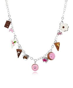 Dolci Gioie | Sterling Silver Charm Necklace