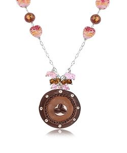 Dolci Gioie | Sterling Silver Chocolate Cake Necklace