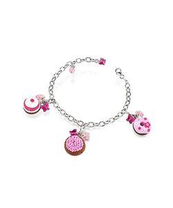 Dolci Gioie   Sterling Detachable Charm Bracelet