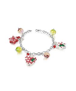 Dolci Gioie | Christmas Hearts And Stars Bracelet
