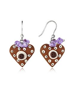Dolci Gioie | Heart Cake Earrings