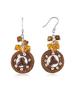 Dolci Gioie | Chocolate Cake Earrings