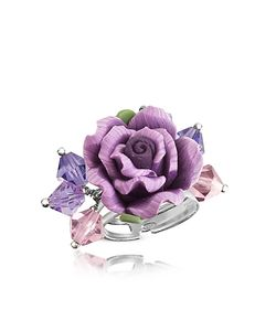 Dolci Gioie | Sterling Silver Rose Ring