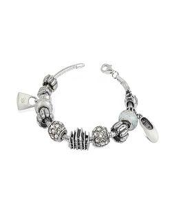 Tedora | Sterling Silver Milan Charm Bracelet