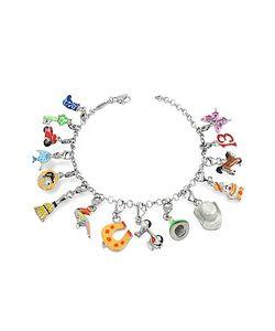 Tedora | Sterling Multicolor Charm Bracelet