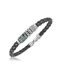 Tedora | Band Braided Leather Bracelet