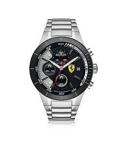 Ferrari | Redrev Evo Tone Stainless Steel Mens Chrono Watch