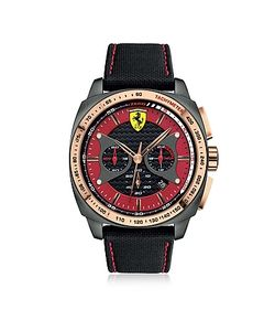 Ferrari | Aero Evo Stainless Steel Case And Black Nylon Strap Mens Watch
