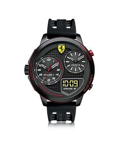 Ferrari | Xx Kers Stainless Steel Case And Silicone Strap Mens Watch