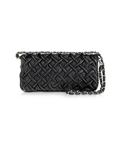 Fontanelli | Pleated Nappa Leather Clutch