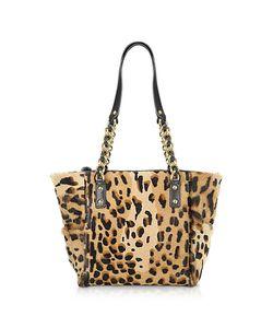 Fontanelli | Calfhair Leopard Print Mini Tote