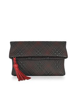 Fontanelli | Quilted Leather Clutch