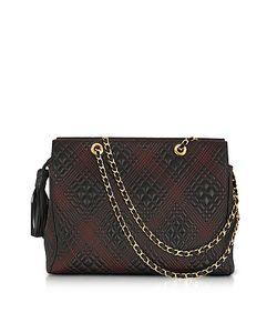 Fontanelli | Quilted Leather Shoulder Bag