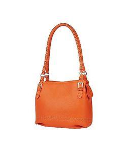 Fontanelli | Stiched Soft Leather Handbag
