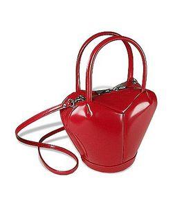 Fontanelli | Italian Polished Leather Heart Bag