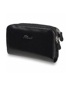Fontanelli | Polished Calf Leather Zip Wallet