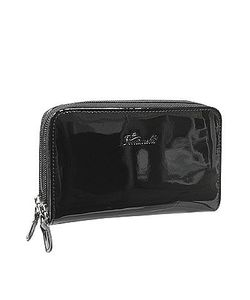 Fontanelli | Patent Leather Zip Wallet