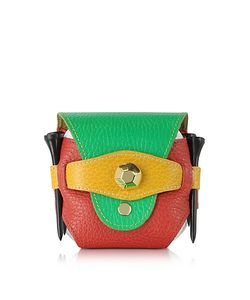 Fontanelli | Multicolor Leather Golfball Holder