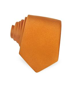 Forzieri | Solid Silk Narrow Tie