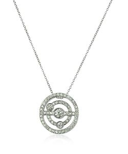Incanto Royale | 0.42 Ctw Diamond 18k Gold Charm Necklace