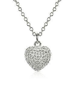 Gisèle St.Moritz | Fantasmania Crystal Heart Pendant Necklace