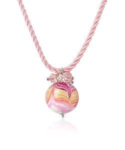 House of Murano | Mare Murano Glass Ball Pendant Necklace