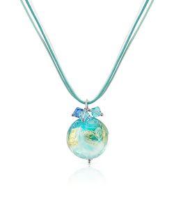 House of Murano | Mare Murano Glass Pendant W/ Lace