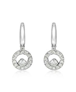 Incanto Royale | 0.7 Ctw Diamond 18k Gold Earrings