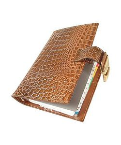 Forzieri | Stamped Alligator Leather Planner
