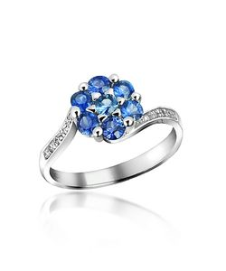 Incanto Royale | Sapphire And Diamond 18k Gold Ring