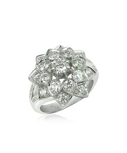 Incanto Royale | 1.44 Ctw Diamond 18k Gold Ring
