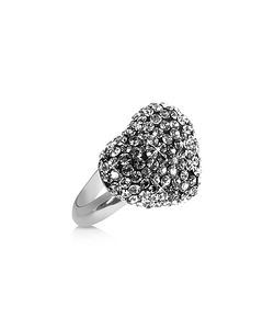 Gisèle St.Moritz | Fantasmania Crystal Black Heart Ring