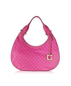 Gherardini   Lupita Fabric And Leather Shoulder Bag