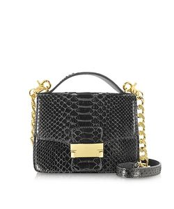 Ghibli   Python Leather Shoulder Bag