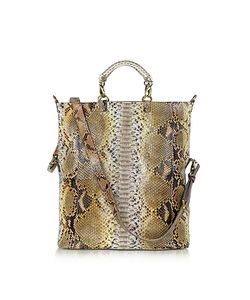 Ghibli | Large Python Leather Tote