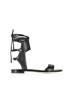 3.1 Phillip Lim | Martini Leather Ankle Lace Flat Sandal