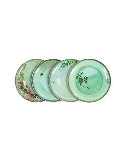 Ibride | Yuan Set Of 4 Extra Plates
