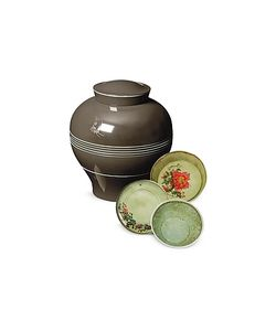 Ibride | Yuan Vase / Stackable Bowls Plates