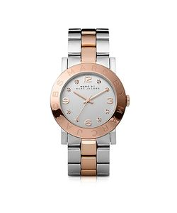 Marc by Marc Jacobs | Amy 36 Mm Two Tone Stainless Steel Womens Watch